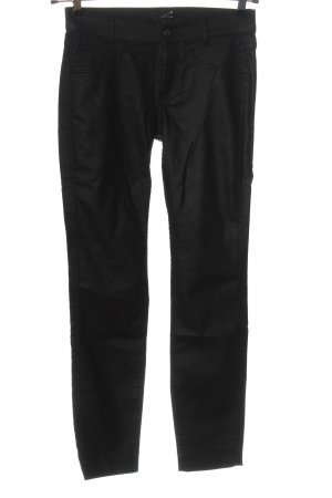 Comma Low-Rise Trousers black business style