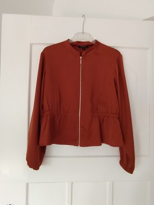 Comma Blouson gold-colored-cognac-coloured