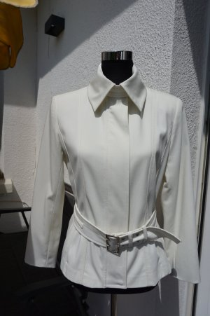 Comma Short Jacket cream polyester