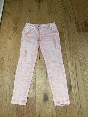 Comma Boyfriend Trousers multicolored