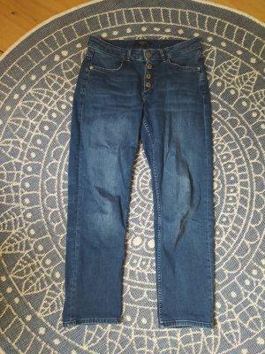 Comma Boyfriend Jeans dark blue