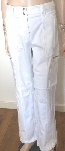 Comma Stretch Jeans white cotton