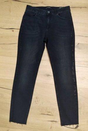 Comma Jeans skinny noir