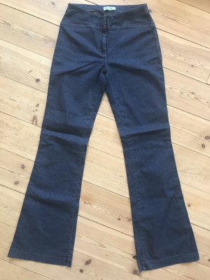Comma Hoge taille jeans donkerblauw