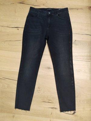 Comma Jeans Skinny Fit June Röhre Denim Strass Highwaist