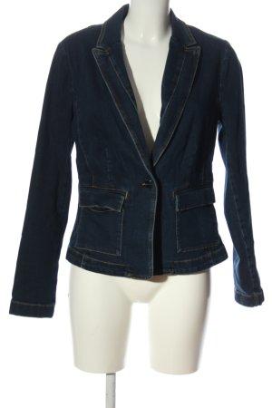 Comma Marynarka jeansowa niebieski W stylu casual