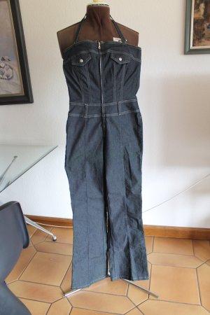 Comma Jeans stretch bleu foncé coton