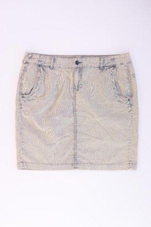 comma, Jeansrock Größe 38 neuwertig braun aus Baumwolle