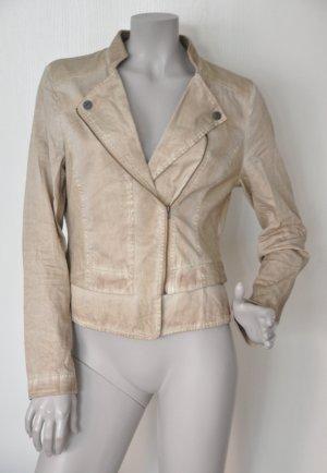 Comma Jersey/ Sweat Biker-Jacke 81.406.54.5526 Baumwolle Gr. 38