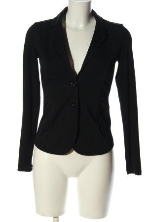 Comma Jersey blazer zwart casual uitstraling