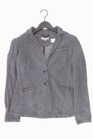 comma, Jerseyblazer Größe 44 grau aus Polyester