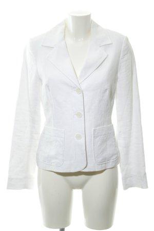 Comma Jerseyblazer weiß Elegant