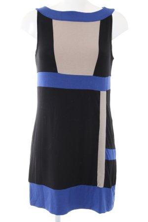 Comma Jerseykleid mehrfarbig Casual-Look