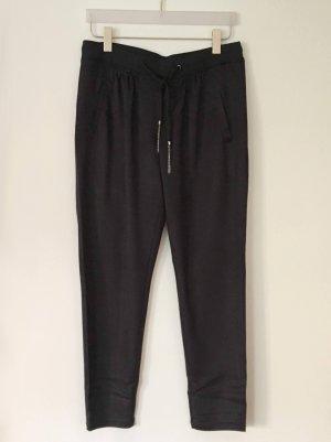 Comma Jogpants Loungepants in Veloursoptik schwarz Gr. 40 UNGETRAGEN MIT ETIKETT