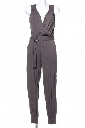 Comma Jumpsuit hellgrau Casual-Look