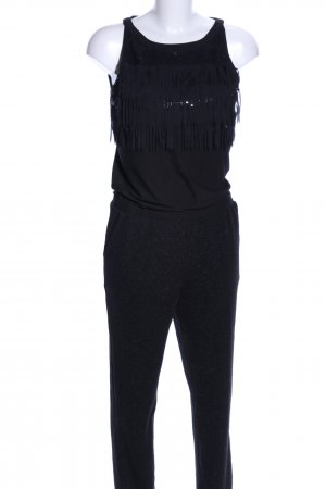 Comma Jumpsuit schwarz Casual-Look