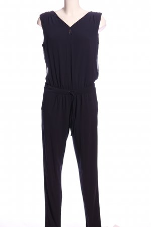 Comma Jumpsuit blau Casual-Look