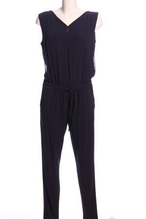 Comma Jumpsuit lila Business-Look