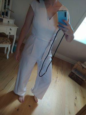 Comma Jumpsuit Nude Pastell Rose Overall Anzug Onesie