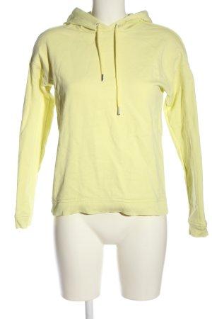 Comma Kapuzensweatshirt blassgelb Casual-Look