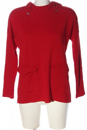 Comma Kapuzensweatshirt rot Elegant