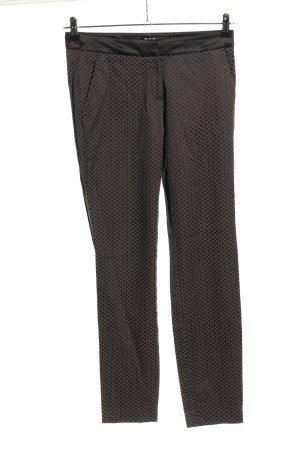 Comma Pantalón de pinza alto negro-gris claro look casual