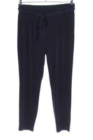 Comma Pantalón de pinza alto negro estilo «business»
