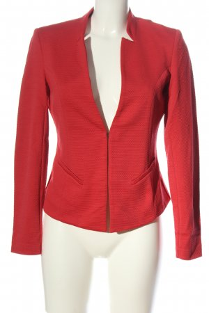 Comma Klassischer Blazer rojo moteado elegante