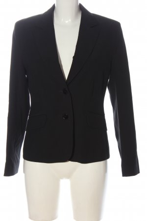 Comma Klassischer Blazer black casual look