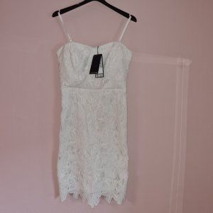 Comma Kleid Etuikleid NP 139,99 neu mit Etikett weiß sehr edel wollweiß