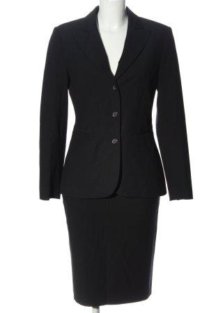 Comma Kostüm schwarz Business-Look