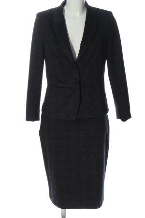 Comma Kostüm schwarz meliert Business-Look