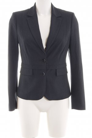 Comma Kurz-Blazer schwarz Business-Look
