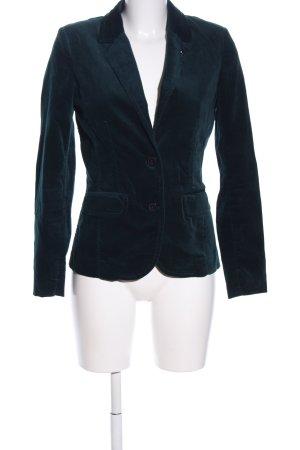 Comma Kurz-Blazer grün Business-Look