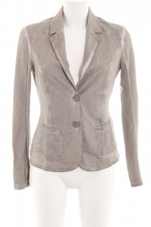 Comma Kurz-Blazer braun Business-Look