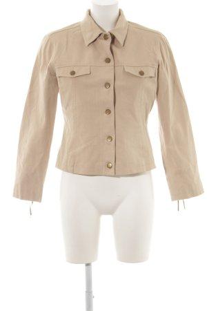 Comma Kurz-Blazer beige Casual-Look