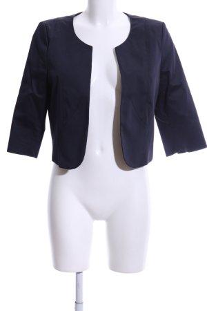 Comma Kurz-Blazer blau Business-Look