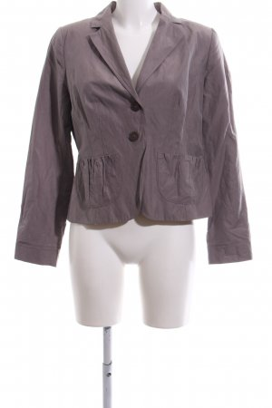 Comma Kurz-Blazer lila Casual-Look
