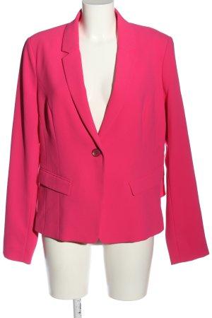 Comma Kurz-Blazer pink Business-Look