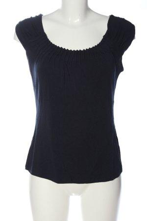 Comma T-shirt nero stile casual