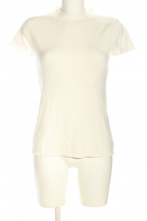 Comma Short Sleeve Sweater natural white casual look