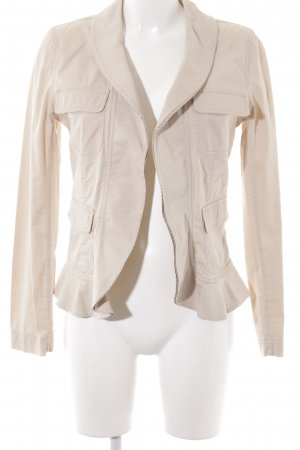 Comma Kurzjacke creme Casual-Look