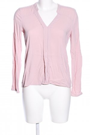 Comma Langarm-Bluse pink Casual-Look