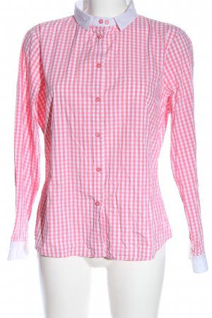 Comma Long Sleeve Shirt pink-white allover print casual look