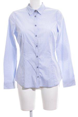 Comma Camisa de manga larga estampado a rayas estilo «business»