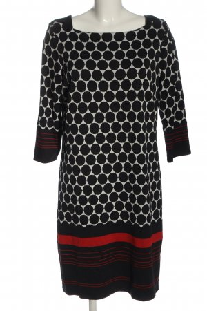 Comma Longsleeve Dress allover print casual look