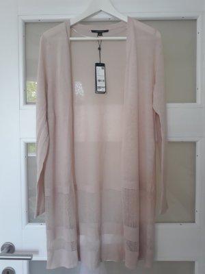 Comma Manteau en tricot vieux rose-rosé