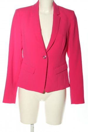 Comma Long-Blazer pink Casual-Look