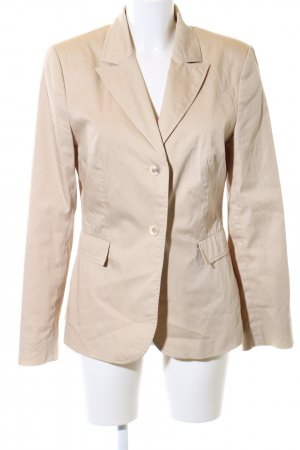 Comma Long-Blazer creme Business-Look