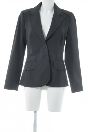 Comma Long-Blazer schwarz Business-Look